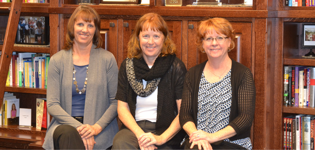Family owned, Laura Gaston, Jill Burnett and Amber McDowell